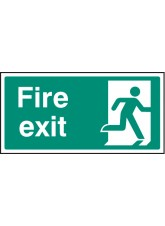 Final Fire Exit - Right