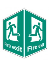Fire Exit - Projecting Sign