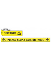 Keep a Safe Distance Floor Tape